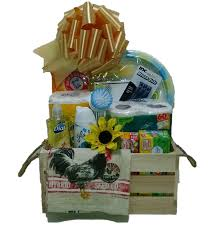 Housewarming Basket House Warming Gift Basket Necessities For New House Or Dormm R