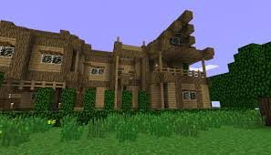 not so small wooden house minecraft project