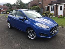 2013 62 ford fiesta1 2 zetec 5dr manual 30 tax not polo corsa
