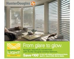 spring colors and summer heat call for hunter douglas window