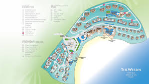 Phuket Map The Westin Siray Bay Resort U0026 Spa Phuket Thailand Destination