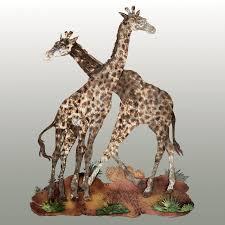 home decor giraffe giraffe statue home decor popular safari and african home decor