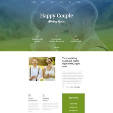 wedding planning websites wedding planner templates templatemonster