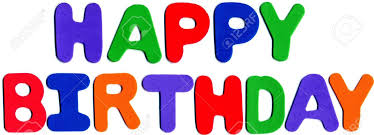 foam letters displaying happy birthday stock photo picture and