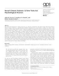 si e social but developing a social psychology of climate pdf available