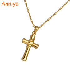crucifix jewelry aliexpress buy anniyo cross necklace pendant for women
