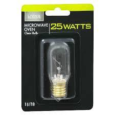 living solutions light bulb clear 25 watt microwave oven walgreens