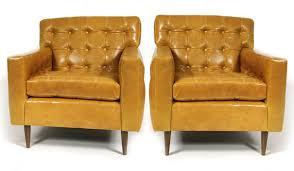 Red Club Chair Modern Leather Club Chair Brown