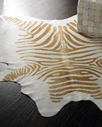 zebra u0027 hide rug neiman marcus