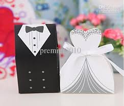 and groom favor boxes new tuxedo dress groom bridal wedding favours boxes candy box