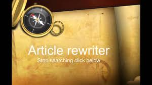 My Magic Article Rewriter Review  and instant access    Video