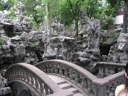 On The Rocks Garden Grove Forest Garden Maze The Bridge And Into A Maze Of