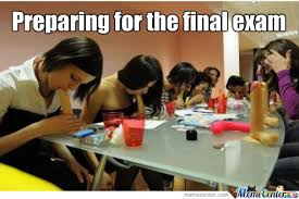Memes About Final Exams - preparings for the final exam by lukabracovic12 meme center