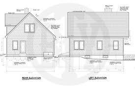 100 floor plans and elevations bradford ii home builders in