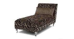 Leopard Print Chaise Madagascar Tiger Pattern Chaise Longue Dfs