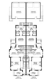 duplex floor plans with garage griffin park duplex lot 21 house plan 06732 21 design from