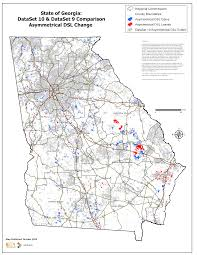 Georgia State Map by Map Gallery Georgia Broadband
