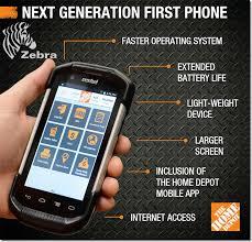 Home Depot Home Design App Home Depot U0027s Custom Smartphone Does Inventory U0026 Mobile Point Of