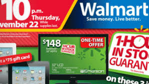 walmart led tv black friday walmart black friday 2012 ad has these top 10 black friday deals