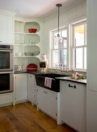 cool kitchen cabinet shelves on corner ideas open inside for