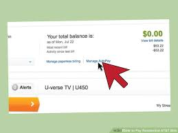 3 ways to pay residential at u0026t bills wikihow