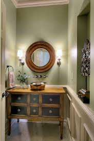 Paint Colors For Powder Room - green paint colors powder room traditional with small powder bach