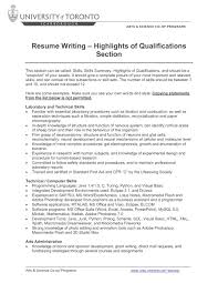 Resume Writer Direct Skills Section Of Resume Examples Resume For Your Job Application