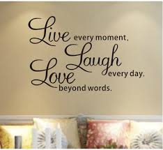 decal live laugh love wall quotes decals removable stickers decor vinyl home art small