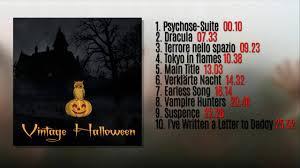 vintage halloween old horror movie soundtracks full album