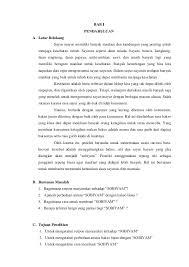 contoh laporan wawancara pedagang bakso laporan penelitian