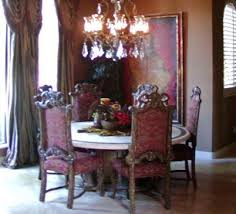 Best Gothic Decor Images On Pinterest Velvet Chairs Home - Gothic dining room table