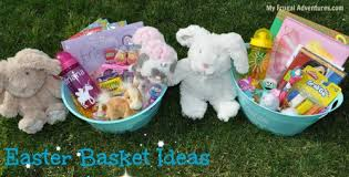 ideas for easter baskets easter basket ideas my frugal adventures