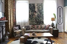living room diy hippie curtains modern chandelier floor lamp