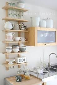 Kitchen Shelving Evergreen Kitchen Remodel Reveal Shelving Neutral Kitchen And