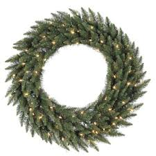 buy 36 lighted wreaths from bed bath beyond