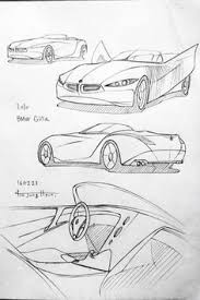 simple car drawings outlines guide