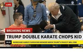 Breaking News Meme - live breakyourownnewscom breaking news trump double karate chops kid