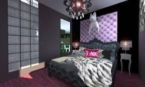 chambre baroque noir et décoration chambre baroque noir et violet 22 la rochelle