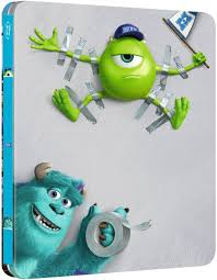 monsters university zavvi exclusive limited edition steelbook