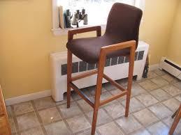 danish bar stools pair of teak bar stools danish modern tarm stole o g pair 3