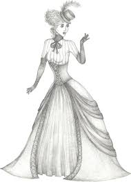 fashion design coloring pages coloring pages of victorian ladies how draw victorian people