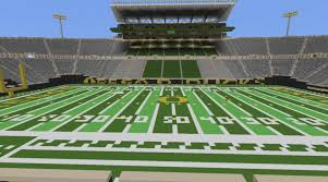 Autzen Stadium Map Autzen Stadium Oregon Football Minecraft Creative Build Youtube