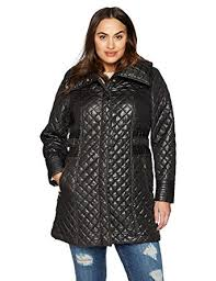 plus size light jacket via spiga women s plus size lightweight quilted jacket with side