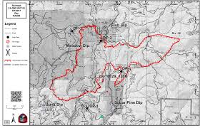 California Wildfires Map Railroad Fire In Madera And Mariposa Counties Perimeter Map For