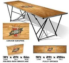 Beer Pong Table Size Beer Pong Balls Cups Racks Kits U0026 More U2013 Bombed