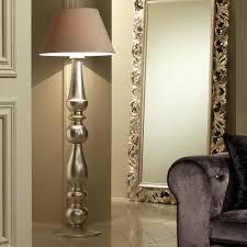 Contemporary Floor Lamps Designer Italian Champagne Leaf Contemporary Floor Lamp