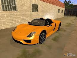 Porsche 918 Gta 5 - 918 spyder 2014 for gta san andreas