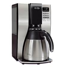 mr coffee under cabinet coffee maker amazon com mr coffee optimal brew 10 cup thermal coffeemaker