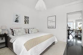 Swedish Bedroom Furniture Bedroom Bright Two Scandinavian Bedroom Aparment With White
