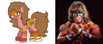 Ultimate Warrior Meme - ponified ultimate warrior my little pony friendship is magic